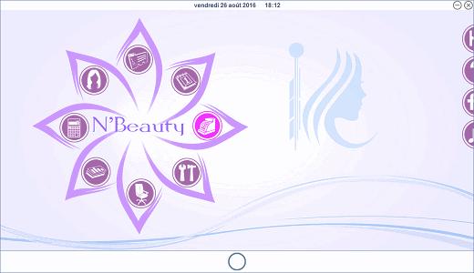 Accueil N'Beauty en bleu